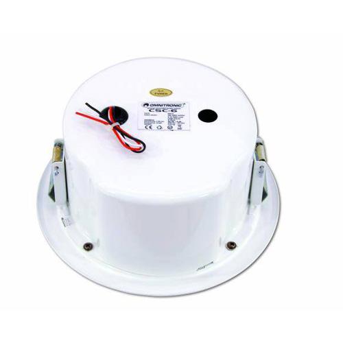OMNITRONIC CSC-6 kattokaiutin 100V pyöreä,kokoalue kaiutin,  Ceiling speaker round 6