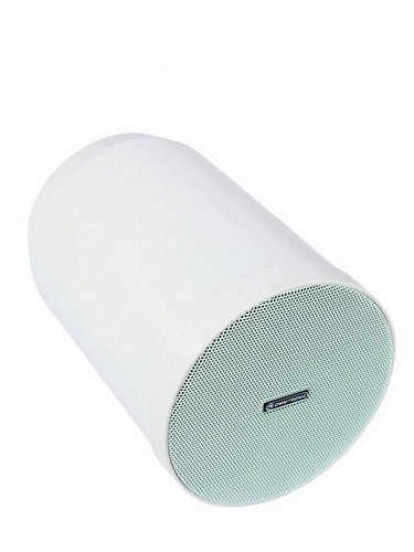 OMNITRONIC WP-10W kattokaiutin roikkuva 100V järjestelmiin. Ceiling speaker ABS 2,5/5/10W RMS