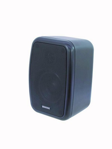 OMNITRONIC WA-4S PA 100V wall speaker black 50W RMS / pair price