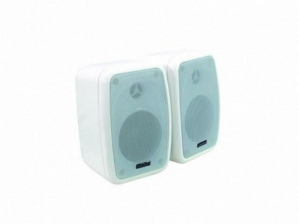 OMNITRONIC WA-4W PA 100V wall speaker white 50W RMS / pair price
