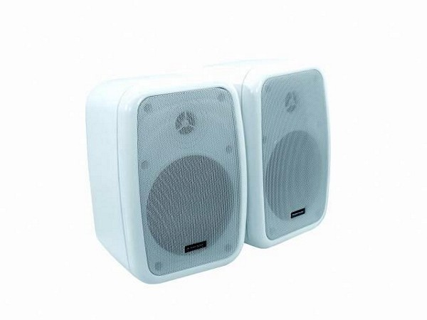 OMNITRONIC WA-5W PA 100V wall speaker white 60W / pair price