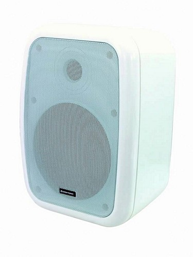 OMNITRONIC WA-6W PA 100V wall speaker white 75W / pair price
