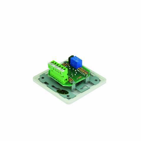 OMNITRONIC PA äänenvoimakkuuden säädin 20W valkoinen Volume Controll 20W mono white with 24 V Emergency Priority Relay