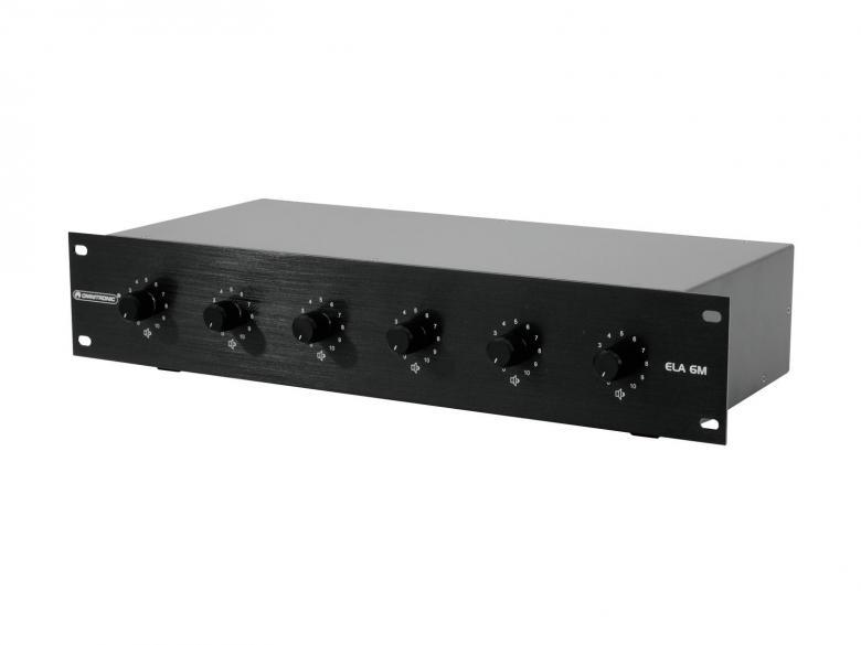OMNITRONIC PA 6-Zone Volume Control 6x 1, discoland.fi