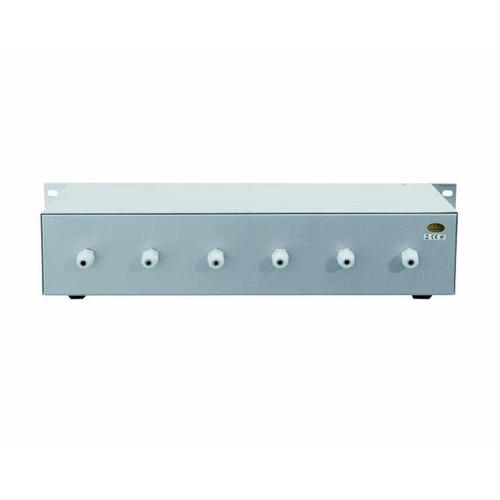 OMNITRONIC ELA 6S, 6-Zone Stereo Volume Control 6x 20W, silver