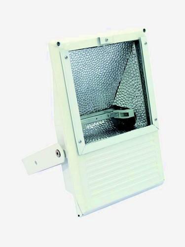 OMNILUX Ulkovalaisin 100-500W lampuille, IP65 toimii edullisella työmaavalo polttimolla R7S