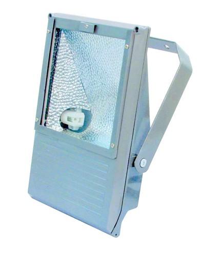 EUROLITE Ulkovalaisin tehokkaalle 70W kaasupurkaus lampulle, IP65, Outdoor Spot 70W WFL silver, For bright 70W discharge lamp