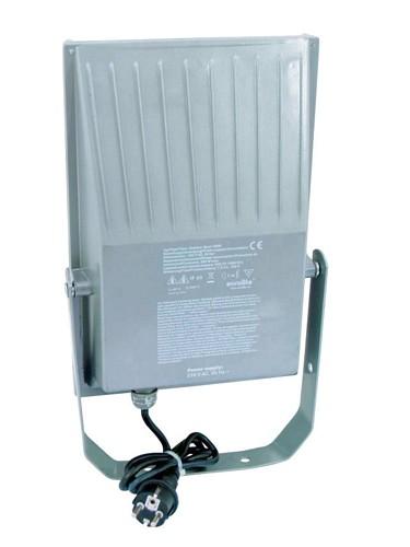 EUROLITE Ulkovalaisin tehokkaalle 70W kaasupurkaus lampulle, IP65, Outdoor Spot 70W WFL valkoinen, For bright 70W discharge lamp