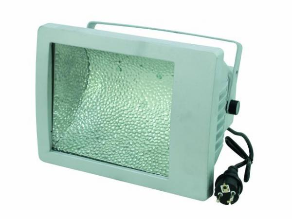 POISTO EUROLITE MIKH-200A Ulkovalaisin E27 Silver IP65, For bright halogen lamps up to 200W
