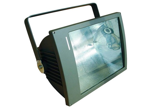EUROLITE MIKH-2000S Outdoor Spot E40 Black IP65, For bright halogen lamps up to 2000W. Erittäin tehokas ulko valalaisin 2000W.