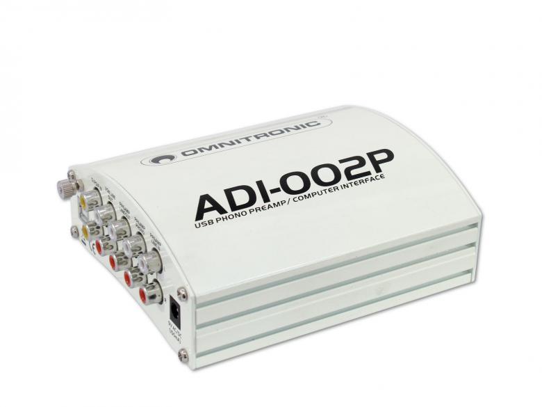 OMNITRONIC ADI-002P ulkoinen äänikortt, discoland.fi
