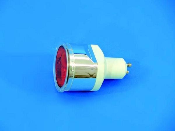 OMNILUX GU-10 ES 230V/9W orange Energy Saving Lamp
