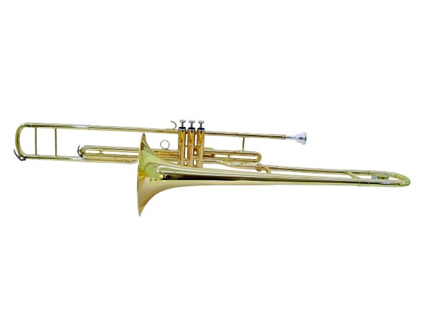DIMAVERY VT-400 Bb 3-Valve trombone, gol, discoland.fi