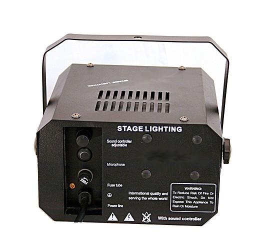 LIGHT4YOU Mini Chrysalis 12V/50W, näyttävä kukkaisefekti, musiikkiohjauksella