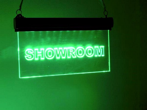 EUROLITE LED-kyltti showroom LED Sign
