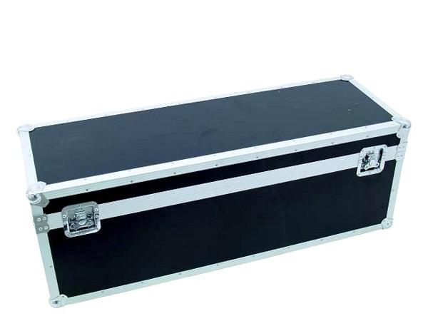 ROADINGER Kuljetuslaatikko Heavy yleiskäyttöön 120cm x 40cm. Professional flight case heavy, on iso sekä laadukas case moneen kuljetukseen. Ulkomitat tarkat 1220 x 420 x 440 mm sekä sisämitat 1180x 365x 410 sekä paino 20,00kg.
