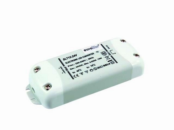 EUROLITE Electronic mini LED transformer, discoland.fi