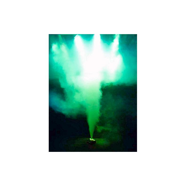 EUROLITE NSF-150A Geysir-savukone 10m ylöspäin savua purkava savukone 1450W