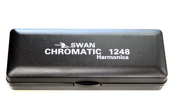 TJP Music Instruments Swan Chromatic Harmonica 1248, Huuliharppu