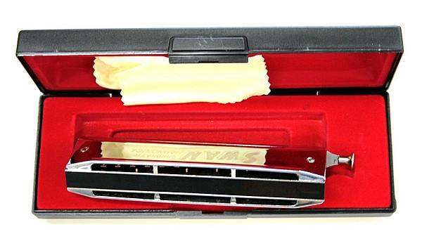 TJP Music Instruments Swan Chromatic Harmonica 1456, Huuliharppu