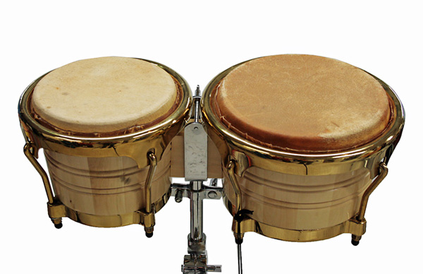 TJP Music Instruments JDB-121 Bongos with stand, bongot ständillä set