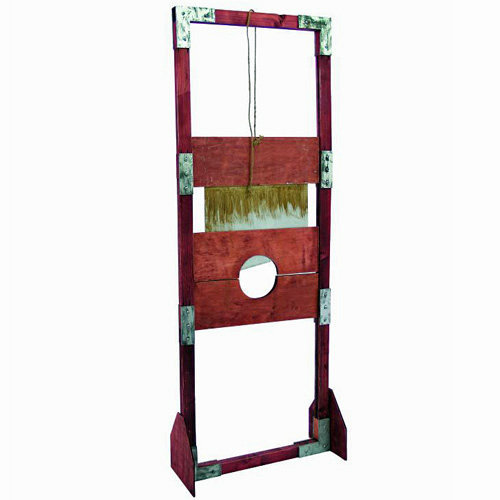 DECO Halloween Guillotine height 205cm