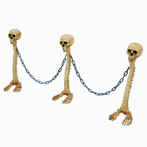 EUROPALMS Halloween Skeleton Barrier, he, discoland.fi