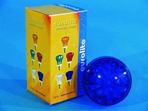 EUROLITE LED Carnival Strobe E-14, Blue , discoland.fi