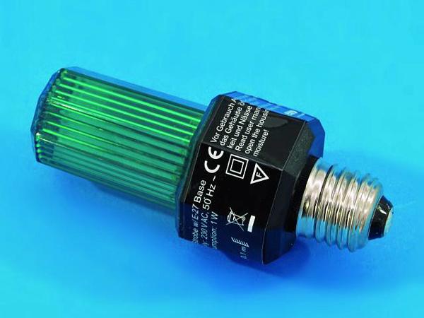 EUROLITE LED Strobe E-27 base, Green