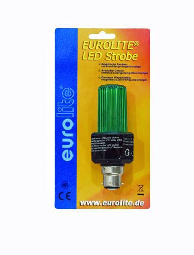EUROLITE LED Strobe B-22 kannalla, väri, discoland.fi
