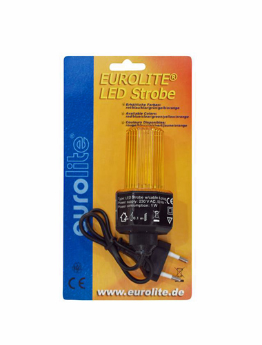 EUROLITE LED-Strobe cable and plug, Yell, discoland.fi