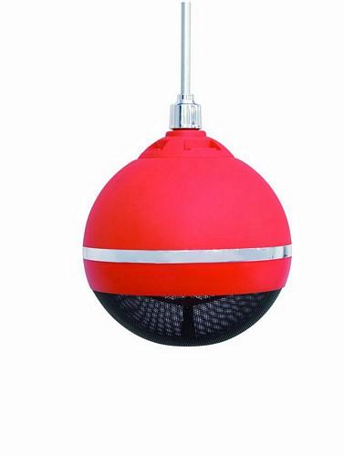 OMNITRONIC WPC-6R kattokaiutin punainen, ripustettava 100V järjestelmiin Ceiling speaker red 10W