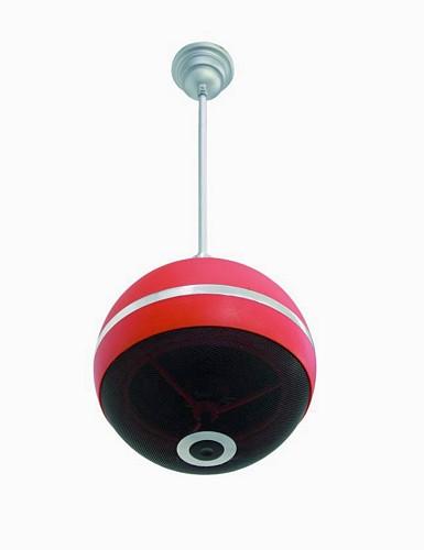 OMNITRONIC WPC-6R kattokaiutin punainen,, discoland.fi
