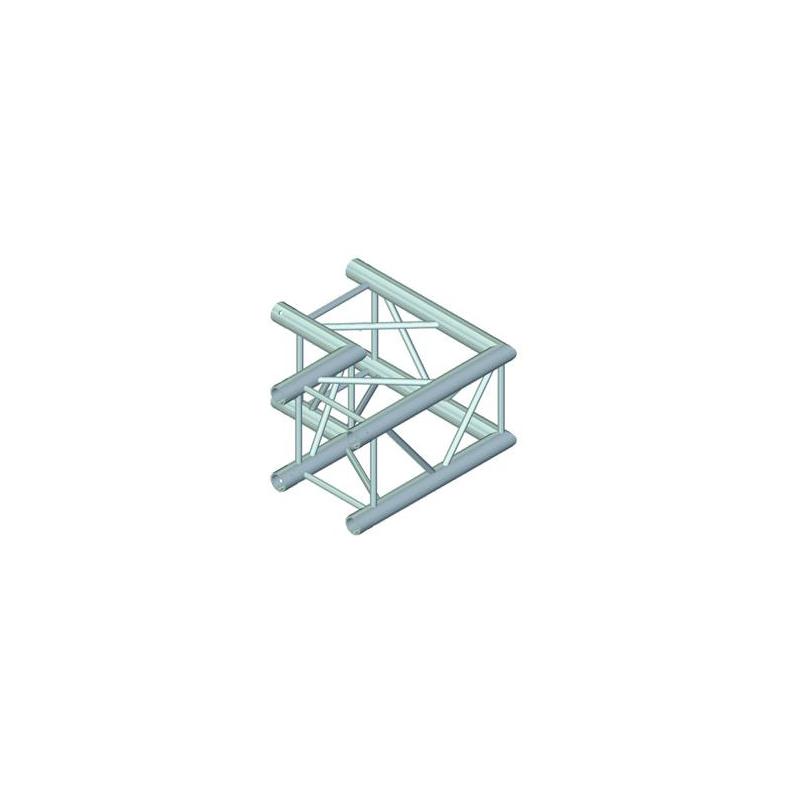 ALUTRUSS  QUADLOCK 2-tie kulmapala 90° 6082C-21. 2-way corner piece  90° 500 x 500mm