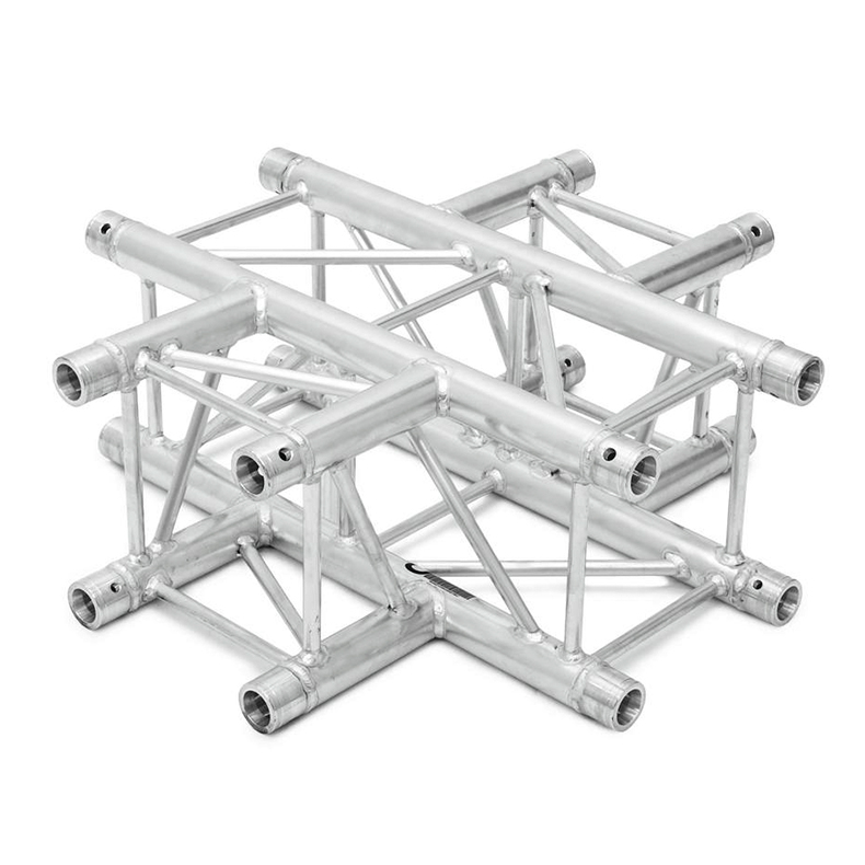 ALUTRUSS  QUADLOCK 4-tie risteyspala 6082C-41. 4-way cross piece