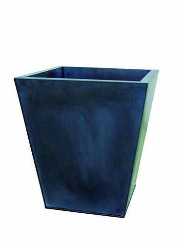 DECO Flowerpot zinc grey height 55cm, discoland.fi