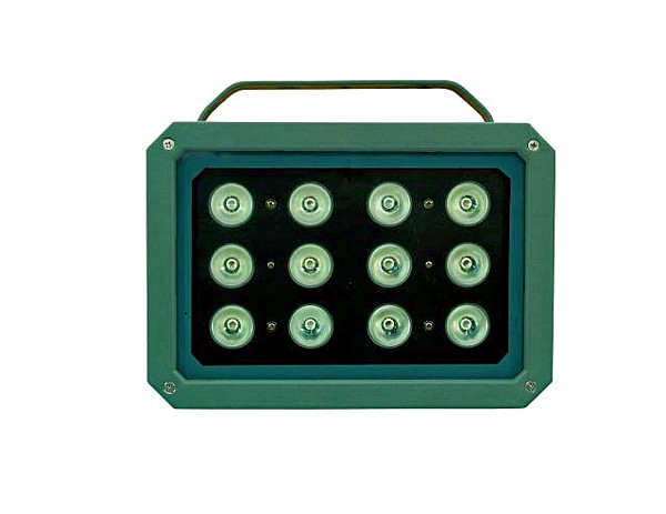 EUROLITe LED Flood RGB IP65, 12x 3W, High-power LED RGB Outdoor Floodlight!