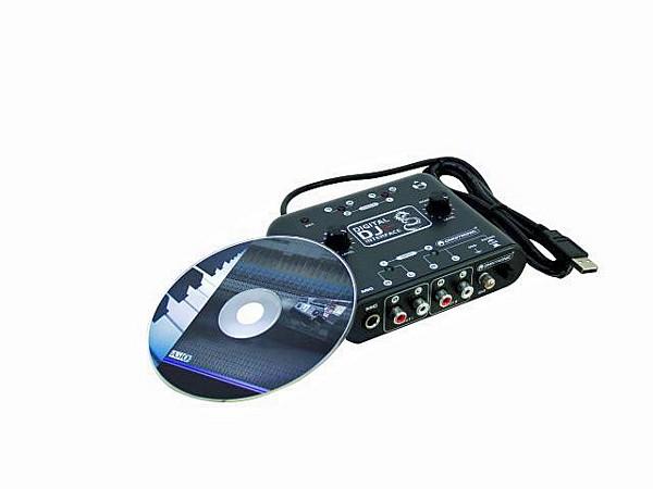 POISTO OMNITRONIC DDI 4x4 USB-äänikort, discoland.fi