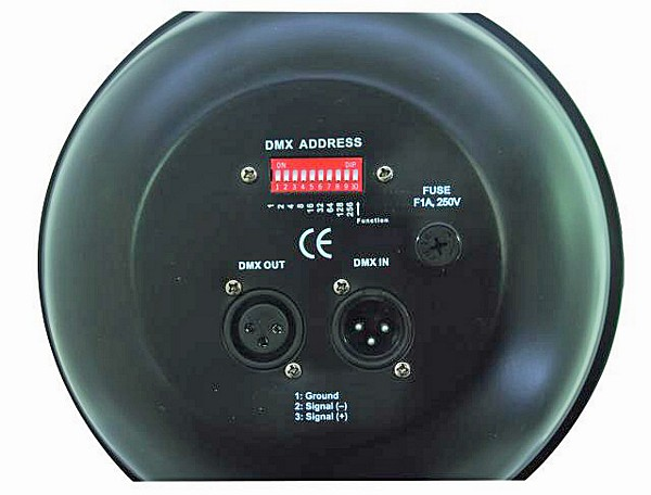 EUROLITE PAR-64 RGB Professional Floor Spot 25° with 36x 1W Highpower LEDs, Black