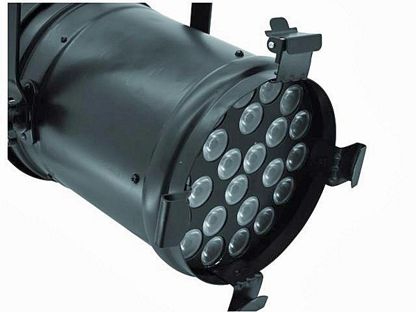 EUROLITE LED X-PAR-64 Spot Black 24x 1W, Clever programing-technology of the LED X-PAR-64 Spot!