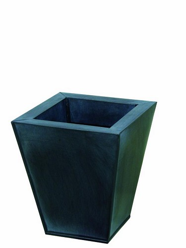 DECO Flowerpot grey [] height 25cm, discoland.fi