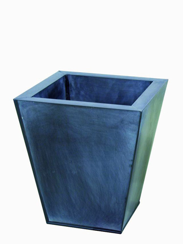 DECO Flowerpot grey [] height 35cm, discoland.fi