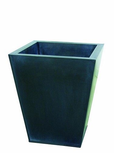 DECO Flowerpot grey [] height 45cm, discoland.fi