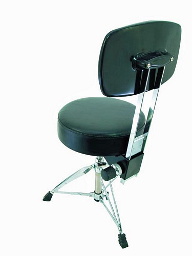 DIMAVERY DT-180 Drum Throne with backrest