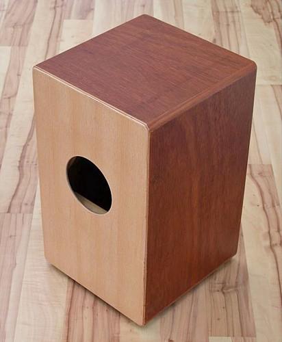 DIMAVERY CJ-100 Cajon, wood, natur 47,5 x 30 x 29cm