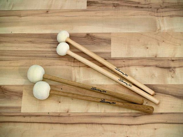 DIMAVERY DDS-Bass Drum Mallets, small, p, discoland.fi