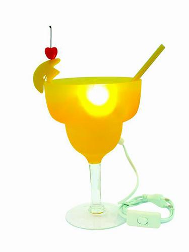 DECO Cocktail lamp Margarita carambola, UUTUUS 7/2009