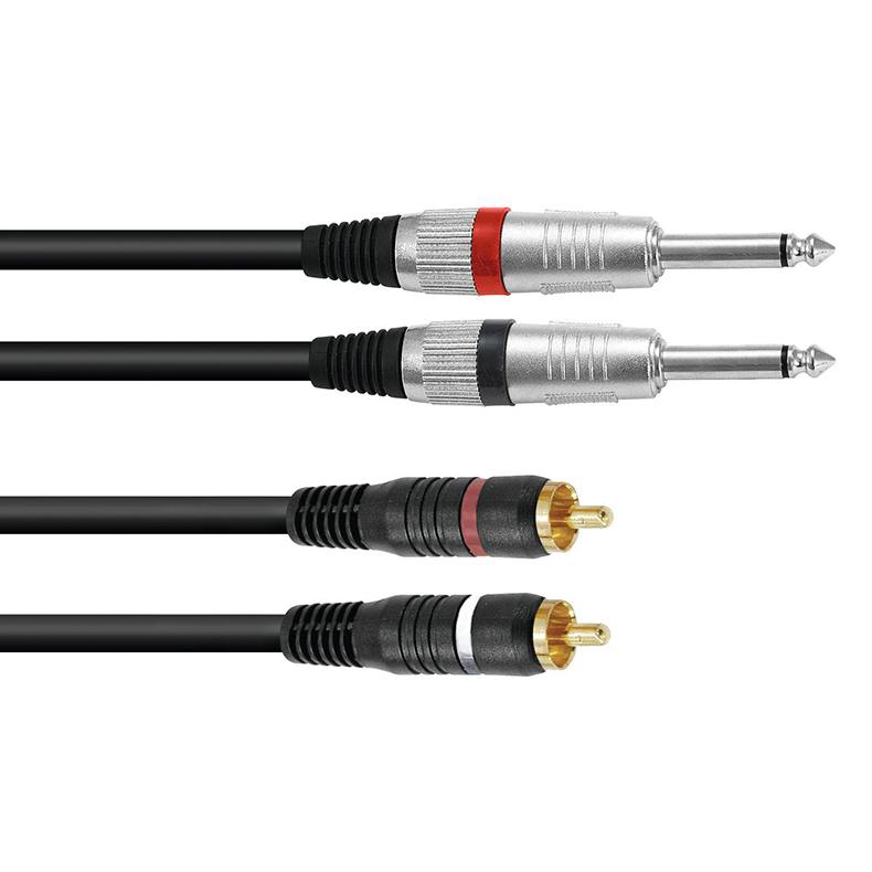 OMNITRONIC Plugi-RCA-adapterikaapeli 1,5, discoland.fi
