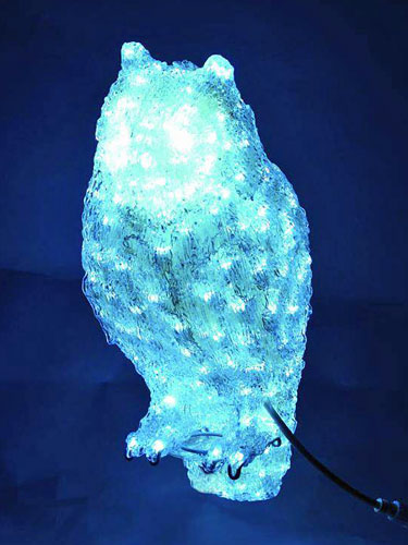 EUROLITE LED Owl, white 256 LEDs