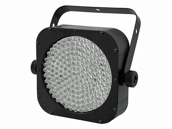 EUROLITE LED SLS-183/10 RGB black 30° 20W, Chic! LED Spotlight in SlimLook! Tilaa säästävä ja helposti kuljetettava ohut mallinen LED-valaisin!